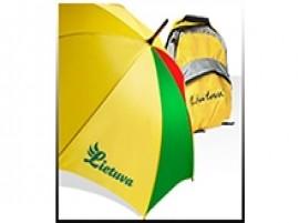 Kuprinės, krepšiai ir skėčiai