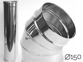 Apvalūs įdėklai į kaminus (150 mm)