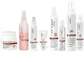 Kosmetikos priemonės plaukams ICE CREAM